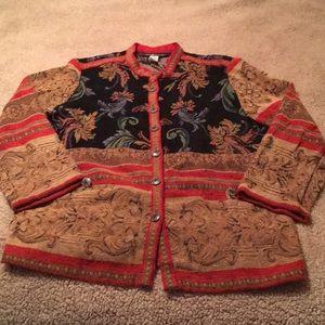 Gorgeous Sag Harbor Tapestry Blazer New Condition